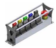 MJCP Мобильная консоль для одноосного джойстика с регулятором PWM