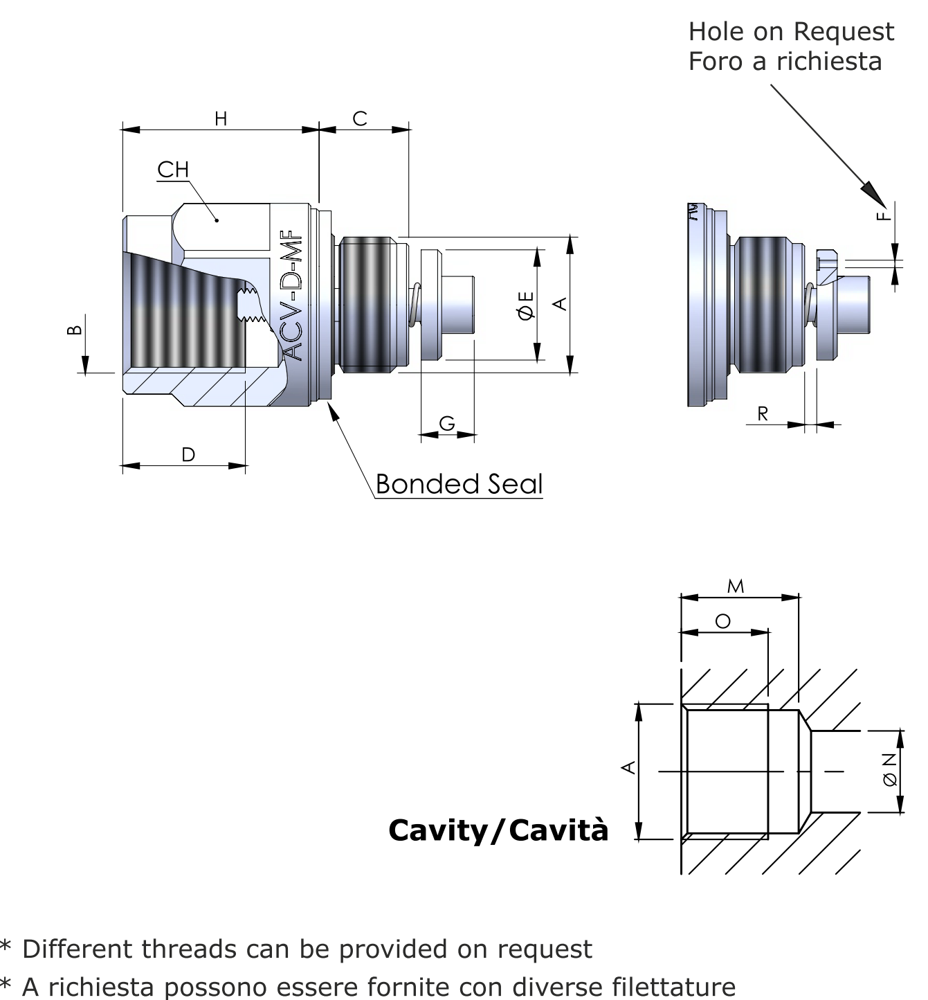 ACV-D-MF схема