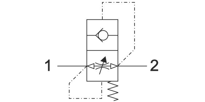 ACV-FF Прямой предохранительный клапан