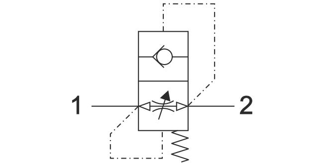 ACV-MF Прямой предохранительный клапан