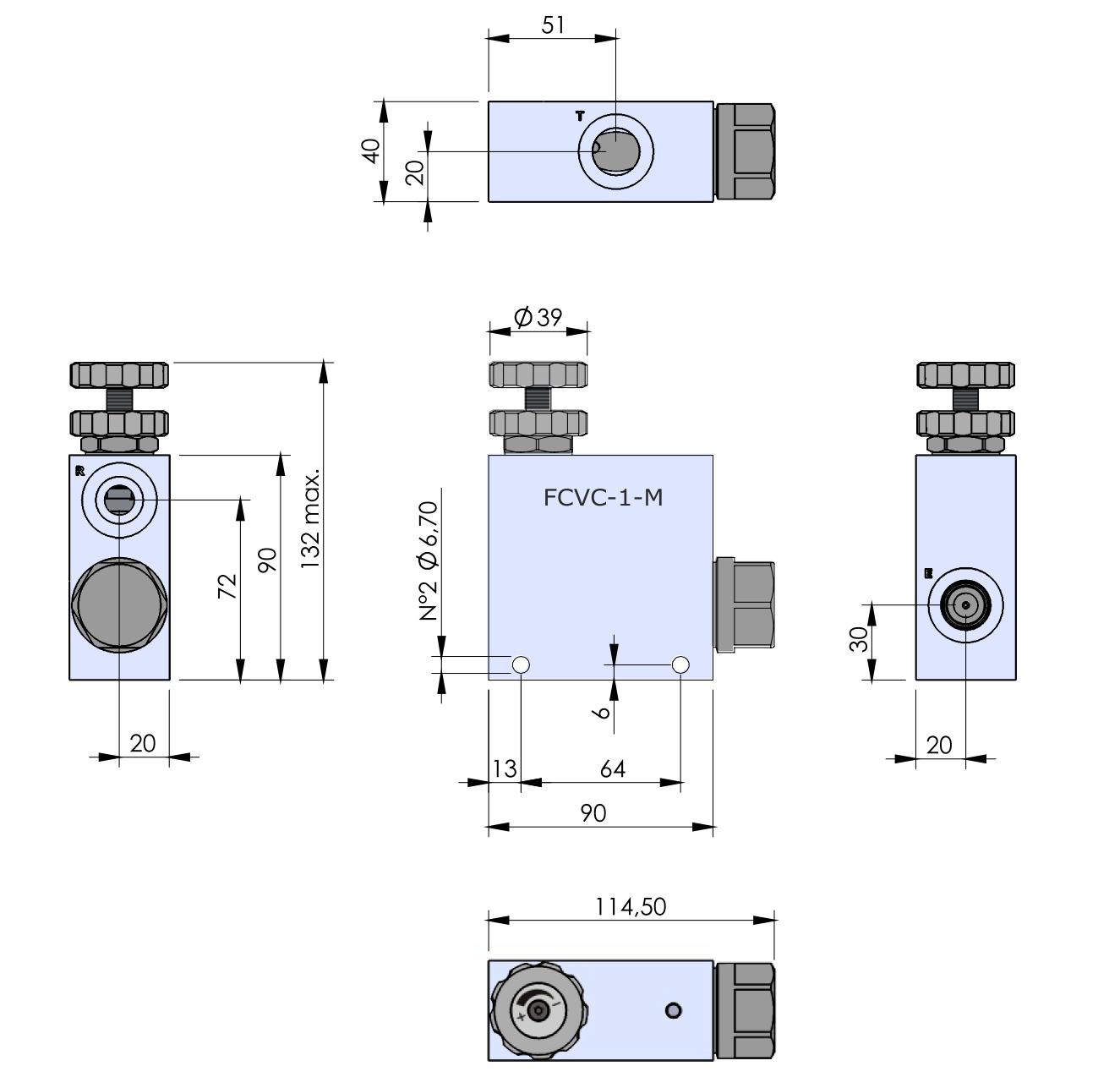 FCVC-1-M схема