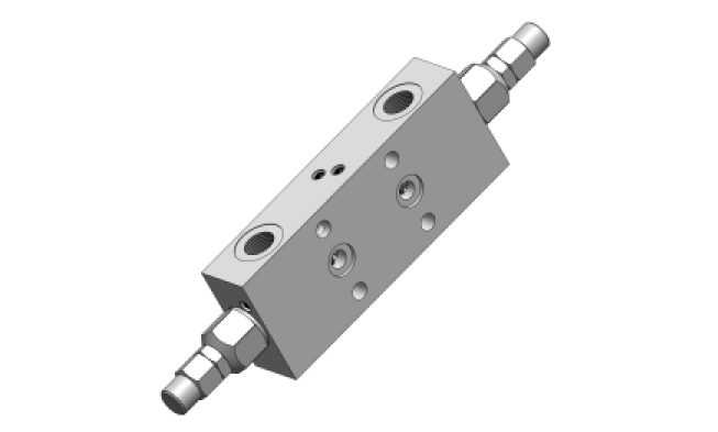 LHV-2-FL Тормозной двустороний клапан <br>(фланцевое крепление)</br>