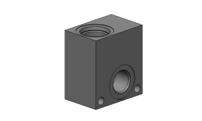 M-RV-20 Корпус для предохранительного клапана