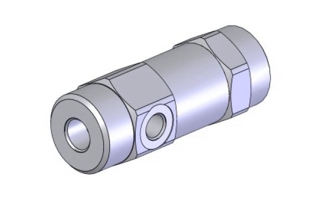 Односторонний гидрозамок картриджного типа POC-1-SC