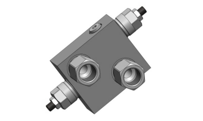 RVD-DI-SC-OMP-OMR-40 Перекрёстный предохранительный клапан для моторов DANFOSS OMP/OMR