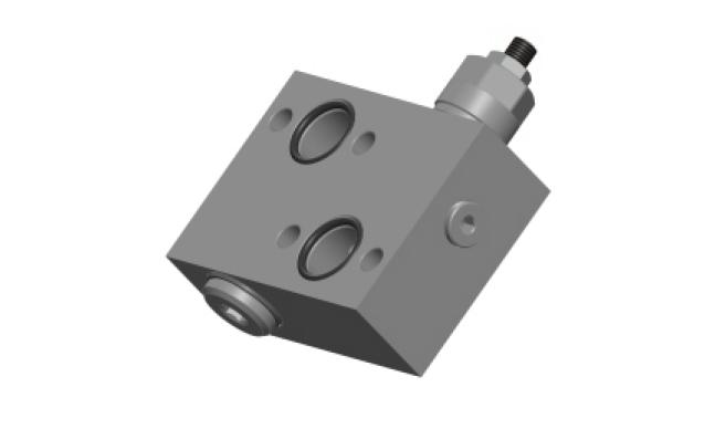 RVD-FL-1-SC-OMP-OMR-40 Предохранительный клапан прямого действия одностороннего типа фланцевого соединения для моторов Данфосс серий OMP/OMR
