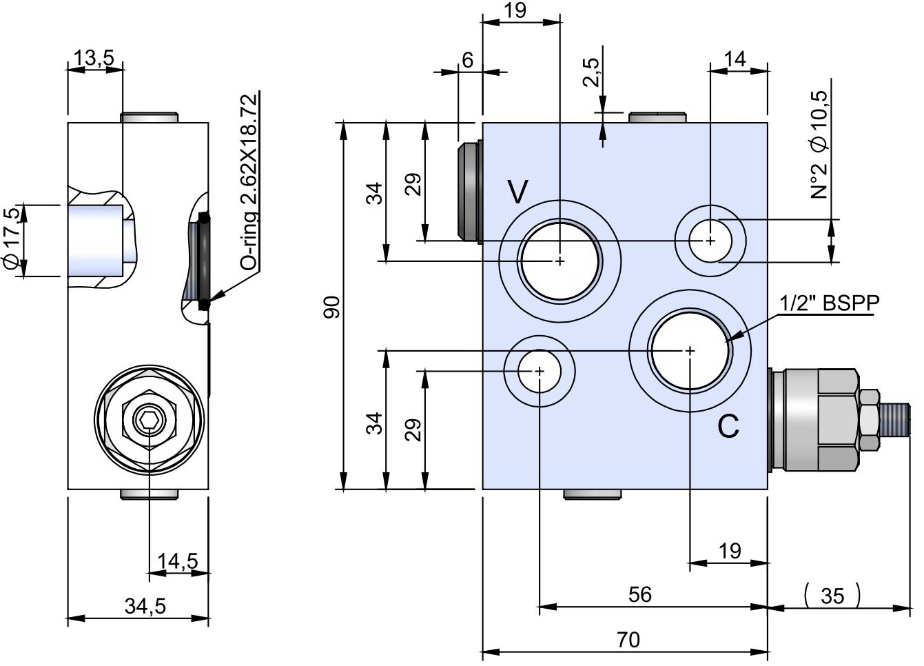 RVD-FL-1-SC-OMS-40 схема