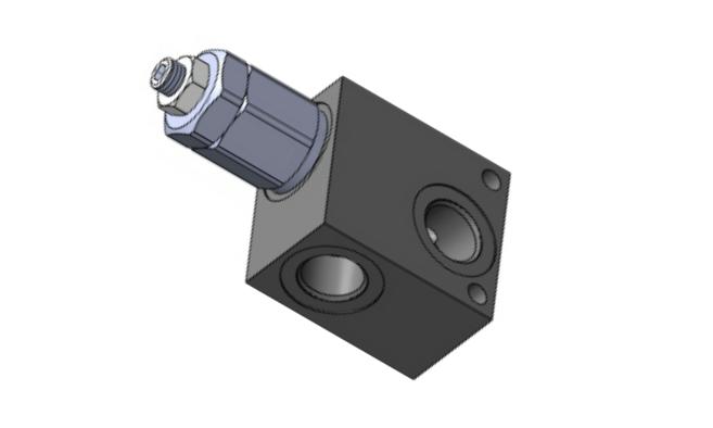 RVD-M-20 Предохранительный клапан прямого действия