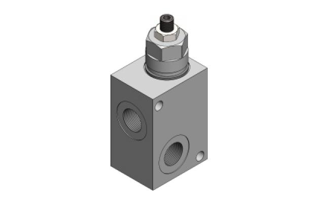 RVD-M-SC-40 Предохранительный клапан прямого действия