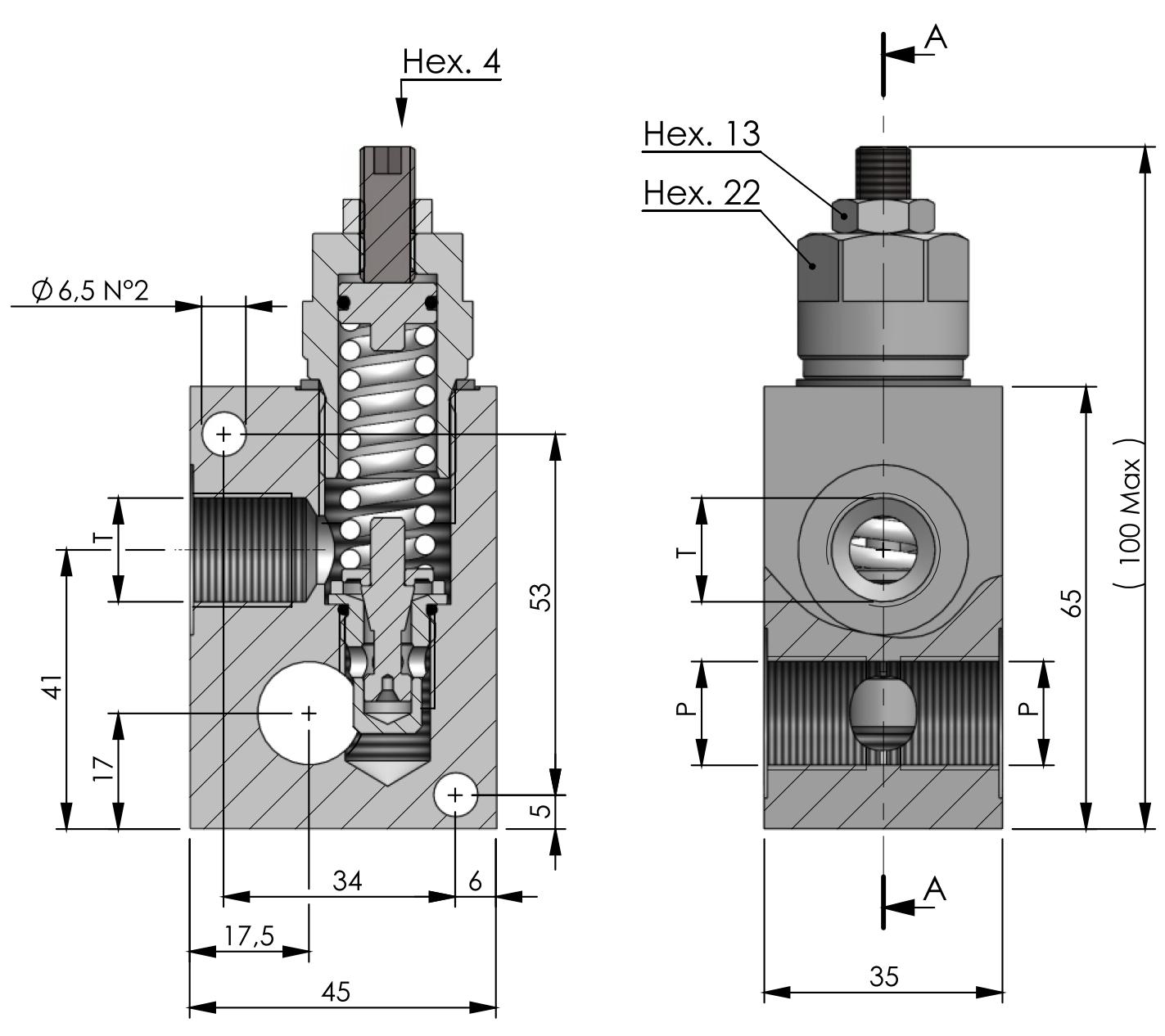 RVD-M-SC-40 схема