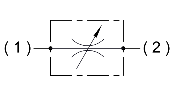 Болт-дроссель двунаправленный FCV-2-VT