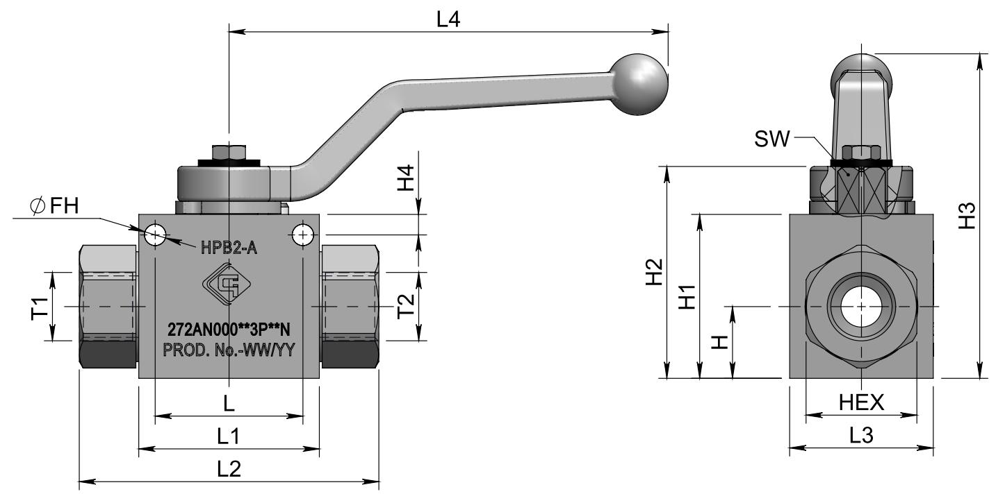 HPB2-A (BSPP) схема