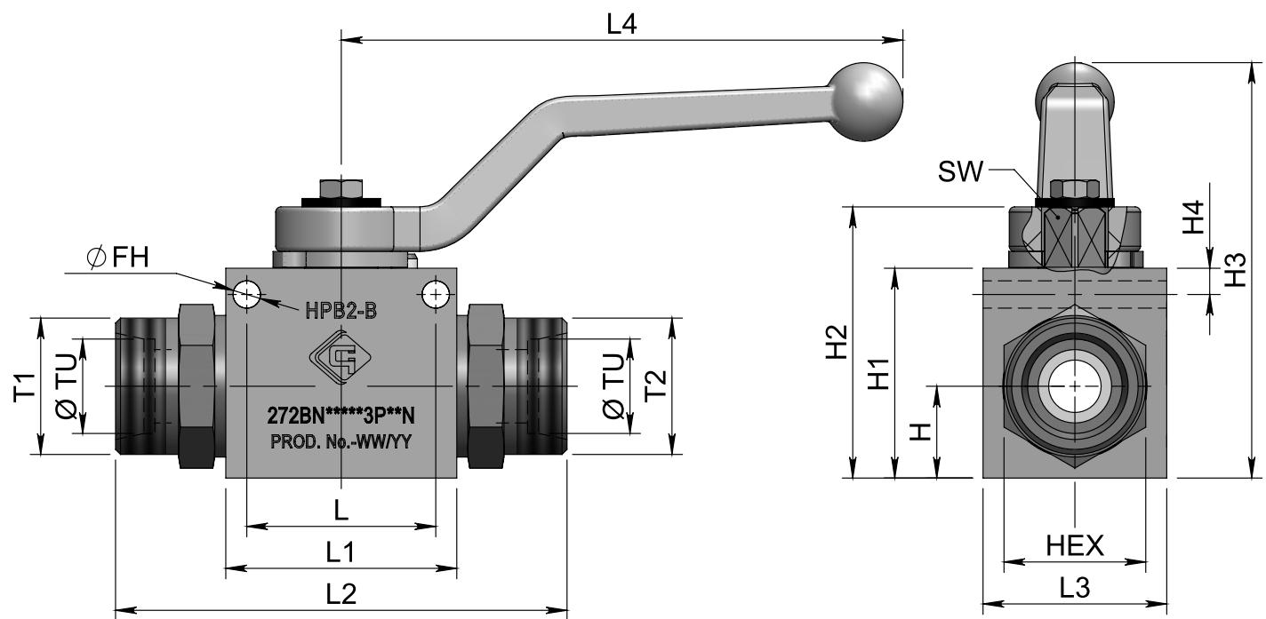 HPB2-B M-M схема