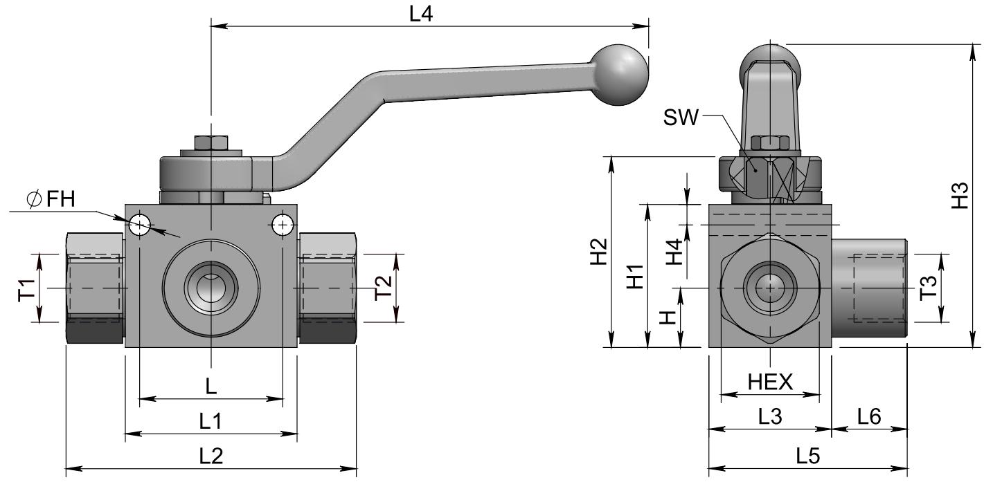 HPB3-B (SAE) схема