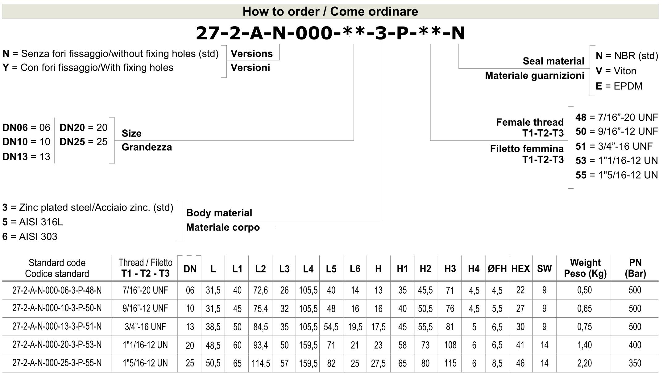 Кран шаровый 3-х ходовой SAE (SAE J 514 UN/UNF)