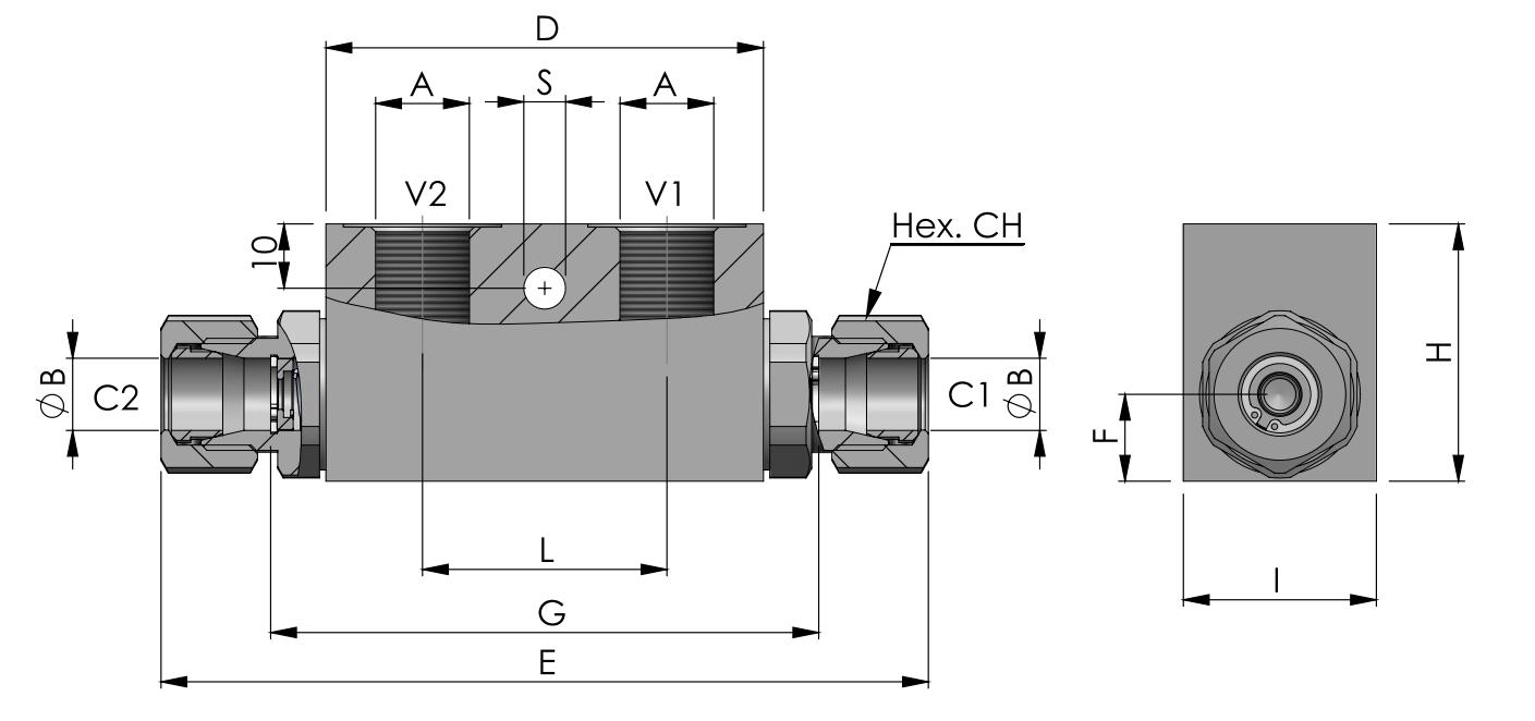 POC-1-DIN2353 схема