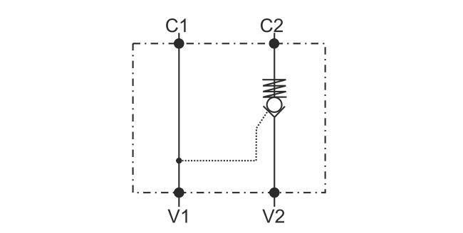 POC-1-FL гидросхема