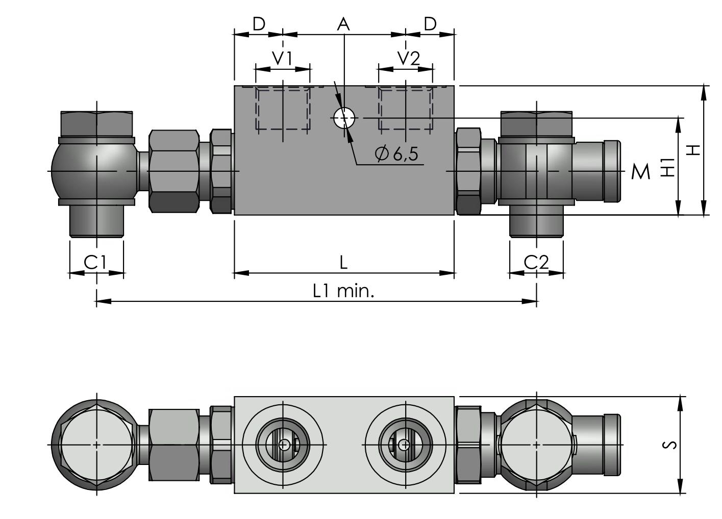 POC-2-OC-DIN2353 схема