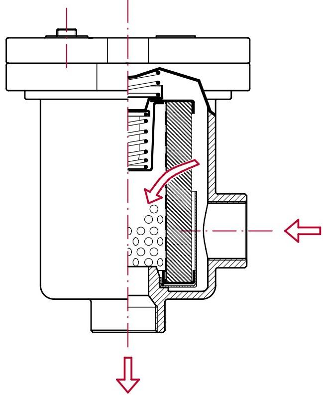 Всасывающий и сливной фильтр FAR
