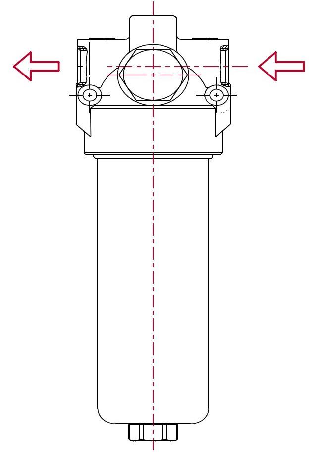 Линейные фильтры среднего давления PF1 (макс. 110 бар)