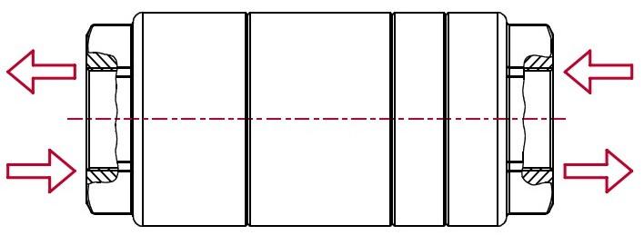 """Фильтры высокого давления PF3 (max. 350 bar)  - Двусторонний, тип """"last chance"""""""