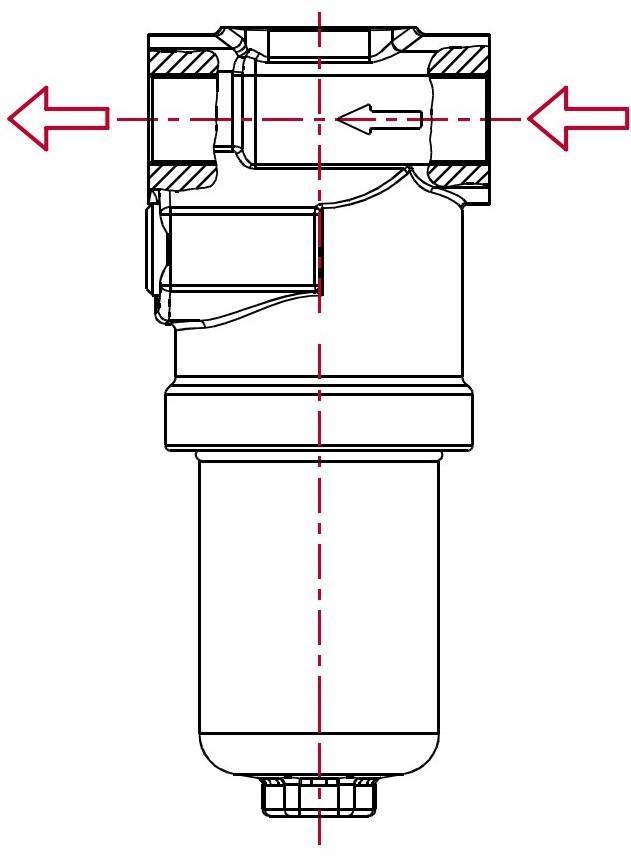 Линейные фильтры высокого давления PF4 (max. 420 bar)