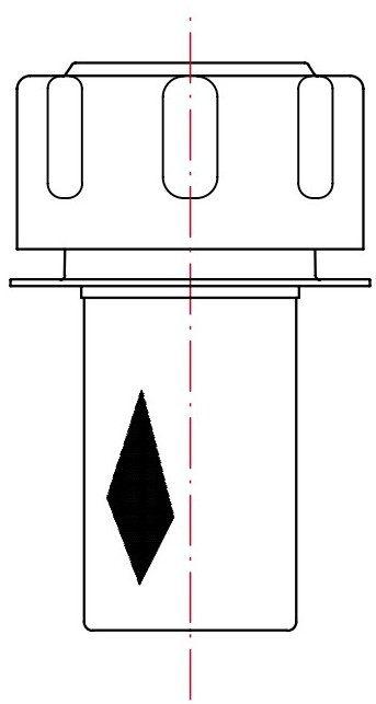 Заливная горловина TP с внутренним фильтром-сапуном