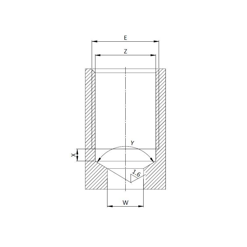 Обратный клапан серии CVR0, Ввертной тип