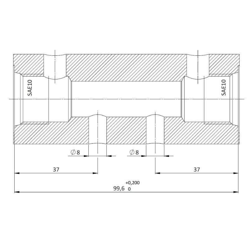 Гидрозамок DPC0.S10, Картриджный тип